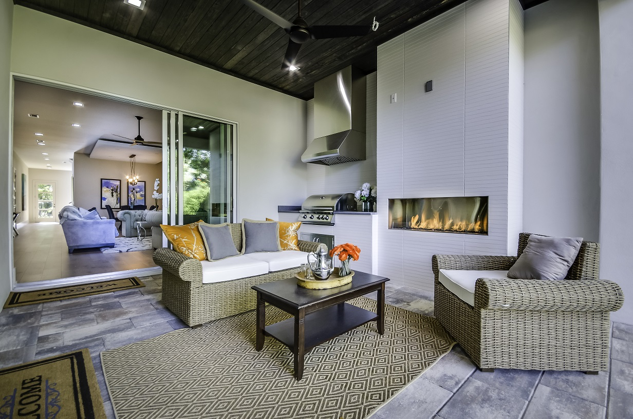 Contemporary home in the downtown Orlando area
